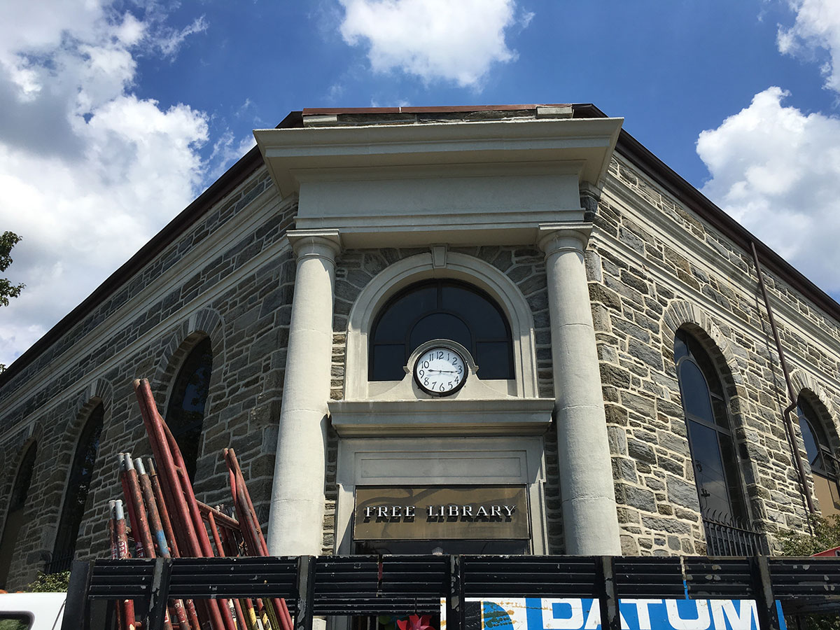 Haverford Township Free Library Government Municipal Restoration Project Datum Restoration
